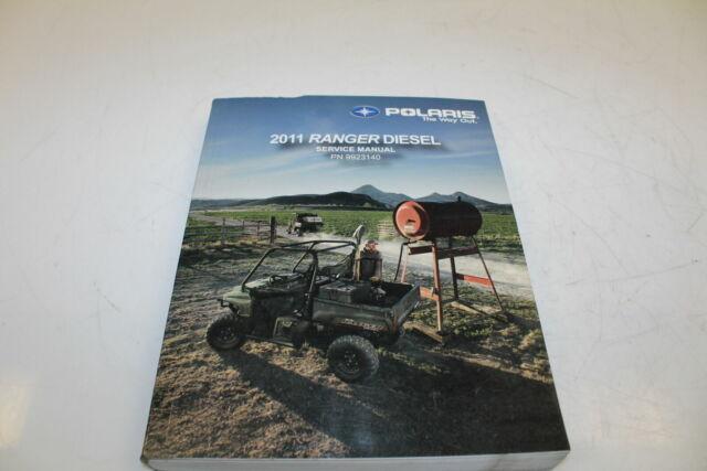 2011 Polaris Ranger Diesel Service Manual Oem Shop Repair
