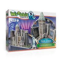Wrebbit 3d Jigsaw Puzzle York Collection Financial 925 Pcs W3d-2013