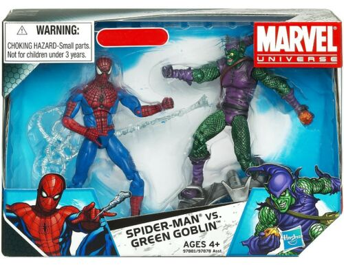 Marvel univers Spider-Man Vs Green Goblin Exclusive Action Figure 2-Pack