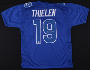 uk availability b2d50 65a97 Details about Adam Thielen Signed Minnesota Vikings Pro Bowl Jersey (TSE  COA) #1 Wide Receiver
