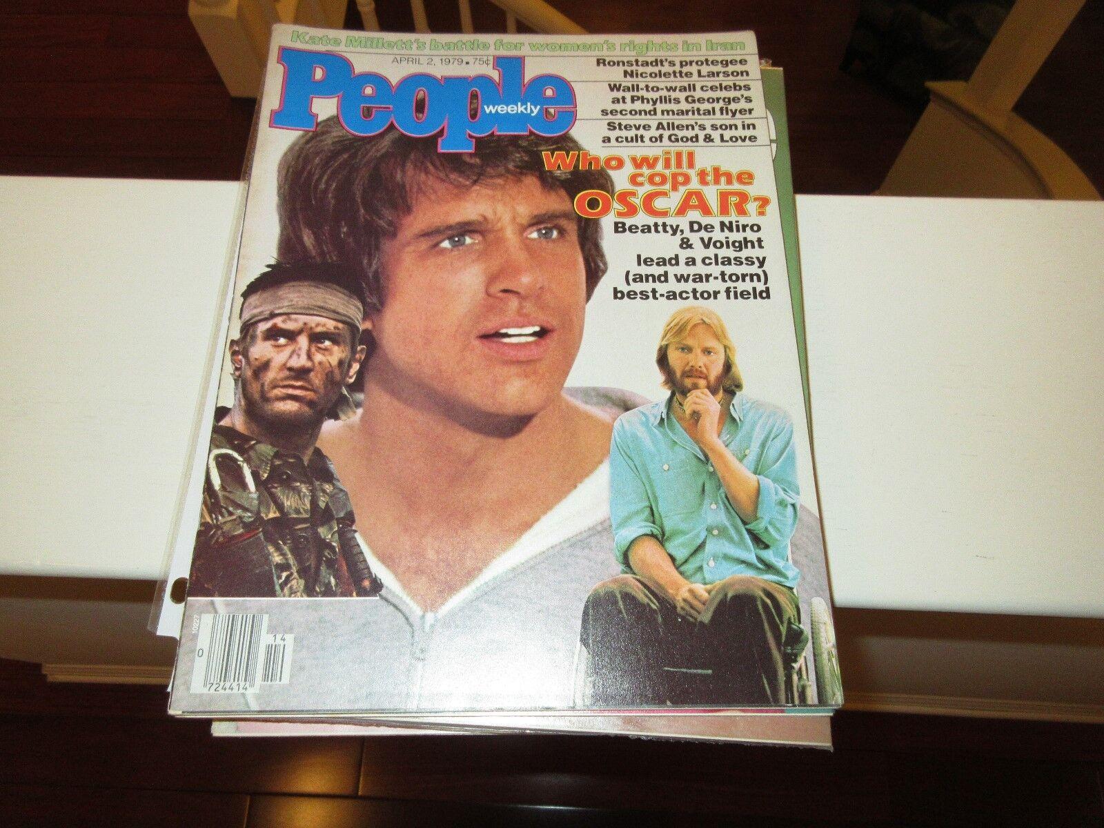 Oscar ? , People Magazine , 4/2/1979 , Beatty , DeNiro