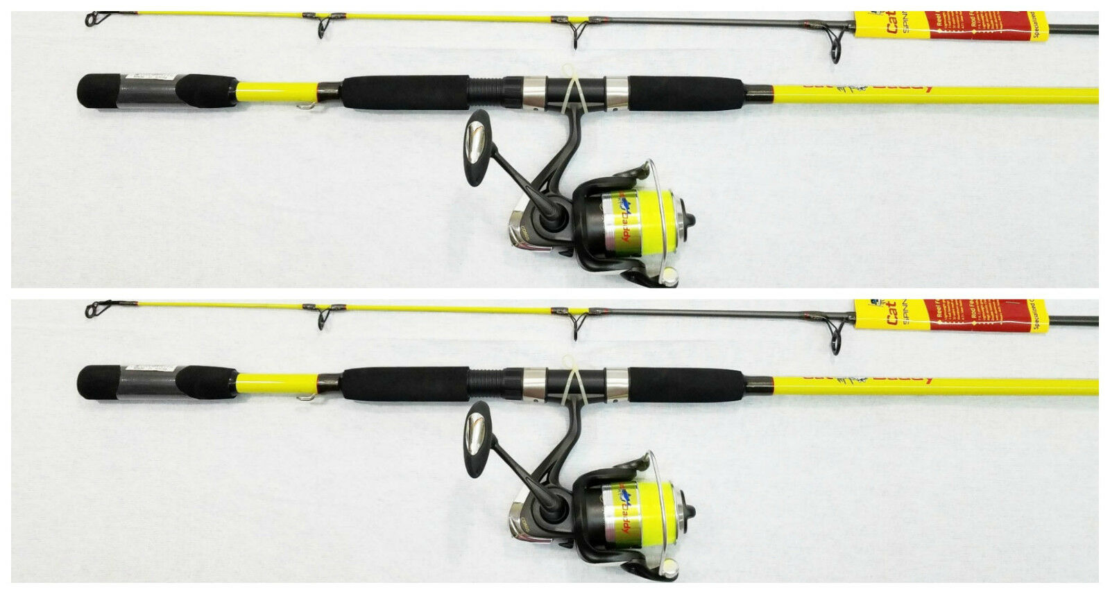 Set of 2 CAT DADDY CATFISH COMBO 7 (ROD&REEL) CD7050MHS-2 from LEW's