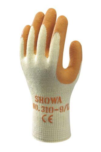 1-240 Paar SHOWA 310 orange Arbeitshandschuhe Handschuhe