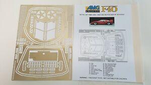 Ferrari F40 Pocher AMG Detail Set 2003 - 005 in 1/8 scale