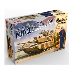 Meng-Models 1 35 Scale U.S. Main Battle Tank M1A2 Abrams Christmas Edition