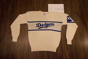 Vintage Los Angeles Dodgers Cliff Engle Sweater Mlb Baseball