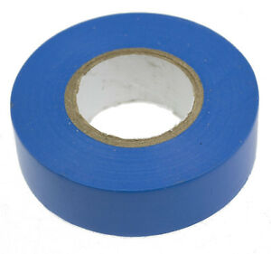 BLUE ELECTRICAL PVC INSULATION / INSULATING TAPE 16mmx16m FLAME RETARDANT