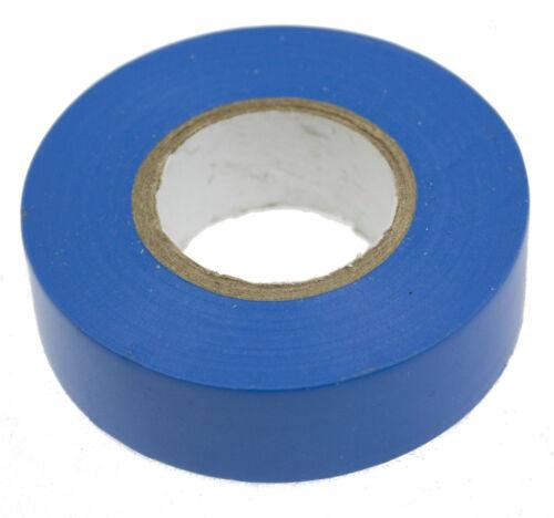 Bleu électrique pvc isolation//ruban isolant 19mm x 20m retardateur de flamme