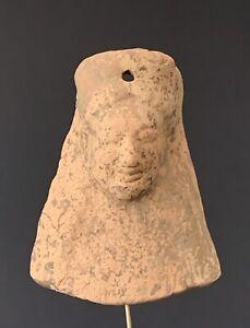 Protomé féminin, Grande Grèce, Ve siècle av. J.-C., greek antiquity