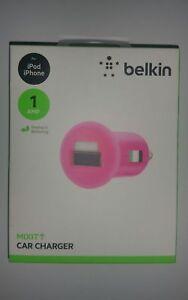 Genuine-Belkin-Car-Charger-Mixit-1AMP-5W-F8J018qePNK-Pink