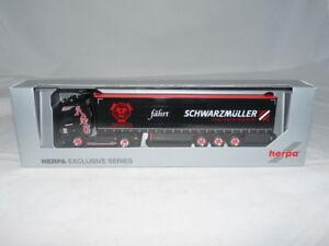 Herpa-933407-scania-CS-HD-visillos-planear-SZ-Schubert-forte-Nero-1-87-nuevo-embalaje-original