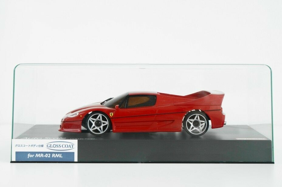 KYOSHO Auto Scale Collection FERRARI F50 RED MINI-Z BODY ONLY