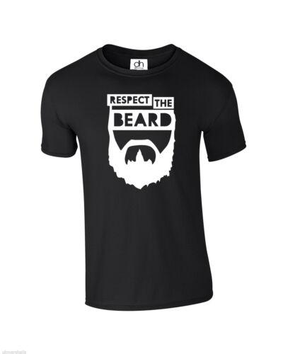BEARD, T-SHIRT top Respect The Beard T Shirt GREAT BEARD RESPONSIBILITY SWAG