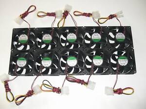 10x-Gehaeuseluefter-Sunon-80x80x25mm-Model-EE80251B1