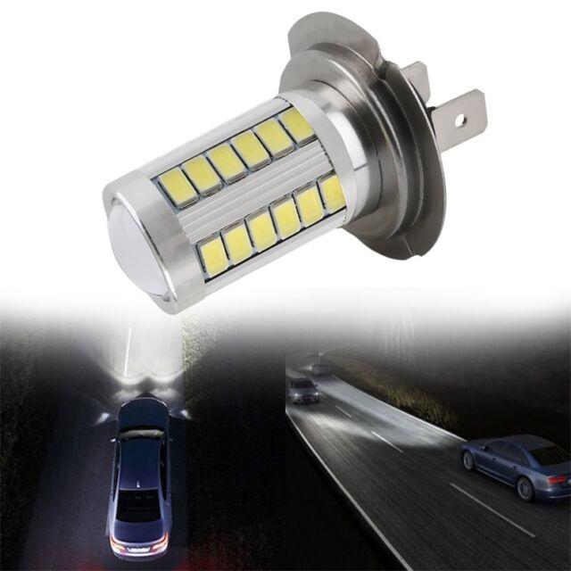 H7 Super Bright White 5630 SMD 33 LED Auto Car Fog Driving Light Lamp Bulb LO