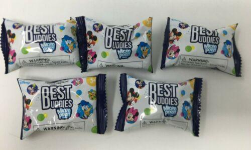 Lot of 5 Sealed DISNEY Micropopz Best Buddies NEW