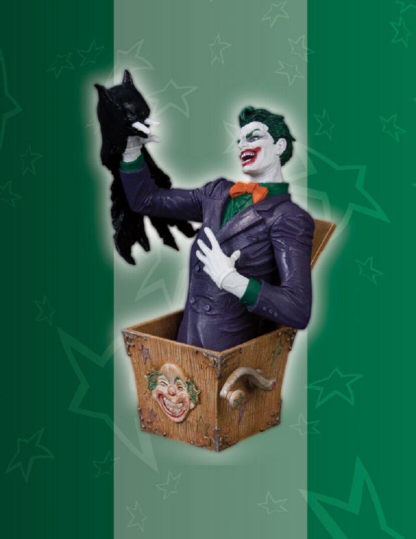New Villains of the DC Universe The Joker Bust statue batman figure rare