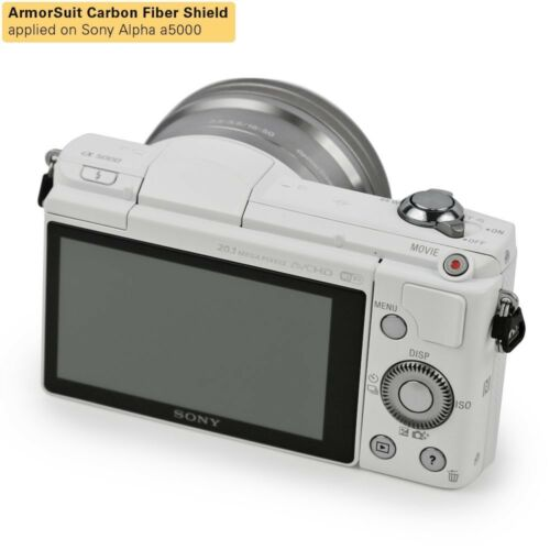 Sony Alpha a5000 Screen Protector Brand NEW! ArmorSuit MilitaryShield