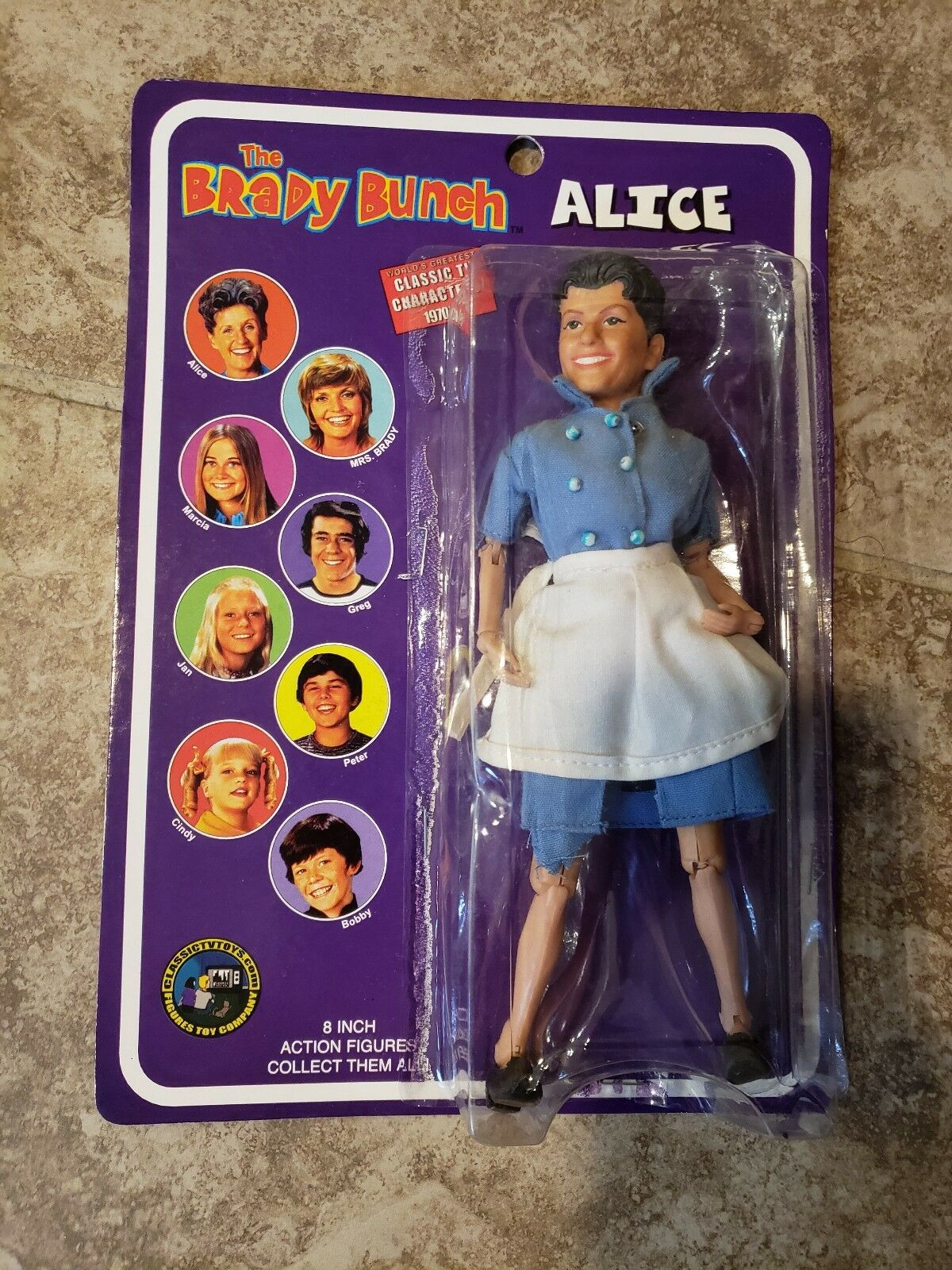 Classic TV Toys The Brady Bunch Alice 8 Inch 2004