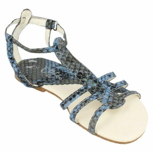 Girls H0069  snake print summer sandal by Cutie Retail Price £3.99