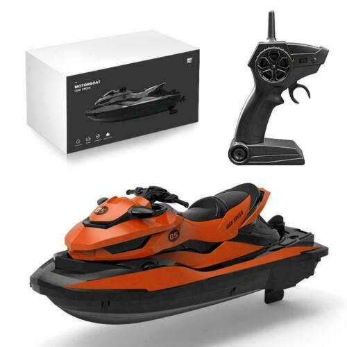 Kids 2.4G Remote Control Super Mini High-Speed Motor Boat RC Racing Outdoor R5Y6