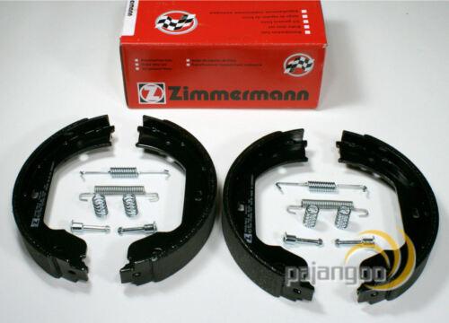 E60 BMW 5er Zimmermann Bremsbeläge Warnkabel Handbremsbacken für hinten