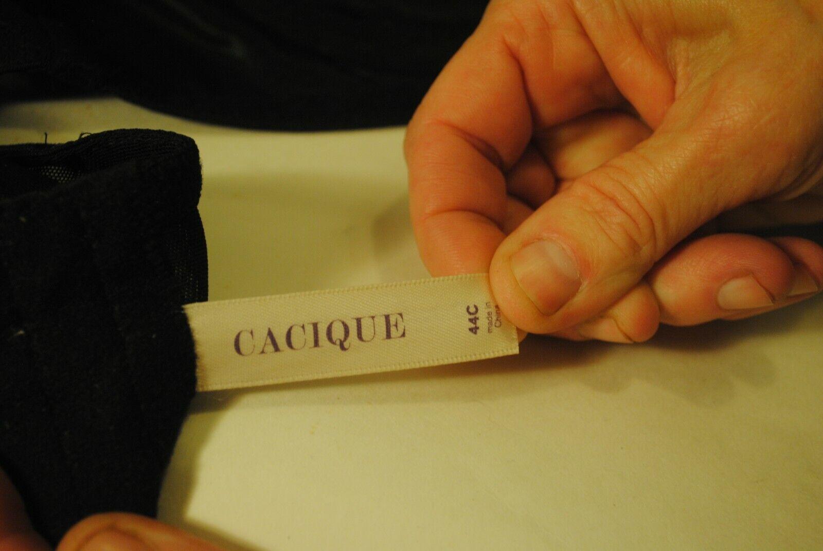 Cacique Brand 44C Black Ladies Brassiere - image 7