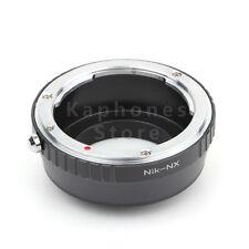 Camera Adapter For Nikon F Lens To Samsung NX1 NX300M NX300 NX210 NX200