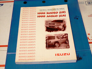 1999 Isuzu Rodeo/ Amigo Electrical Troubleshooting Manual/ Wiring Diagram  Manual   eBayeBay