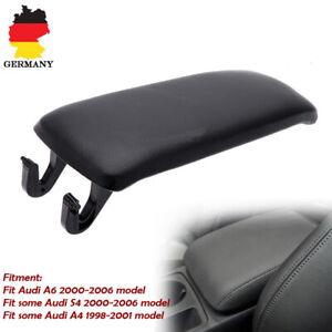 Auto-Abdeckung-Mittel-Armlehne-Deckel-Mittelkonsole-Fuer-AUDI-A4-S4-A6-2000-2006