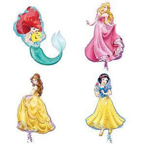 Officiel-disney-princesse-plat-ballon-geant-cadeau-filles-fete-d-039-anniversaire-decoration