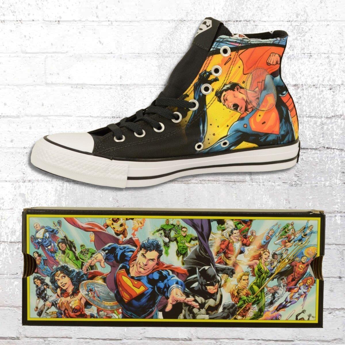 Converse Schuhe CT High Superman Comic Chucks Unisex Männer Frauen Sneaker