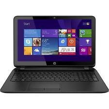 "NEW HP 15 15.6""Touch Screen Laptop - Intel i3-4005U 6GB 1TB WebCam DVD±RW HDMI"