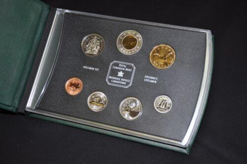 Royal Canadian Mint 1998 Canada Specimen Set
