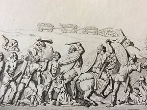 Print-Germany-Battle-Roman-Daces-and-Germains-Column-Middle-Xixth-Century