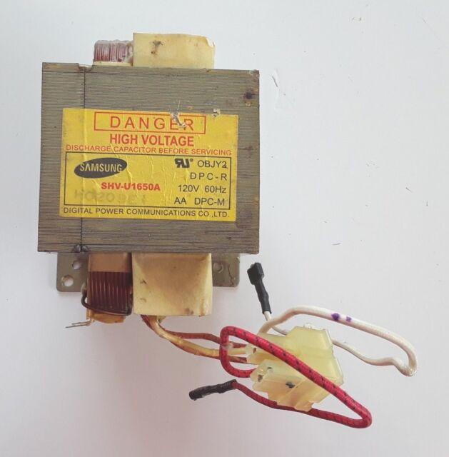 Microwave Transformer WB27X10938 on
