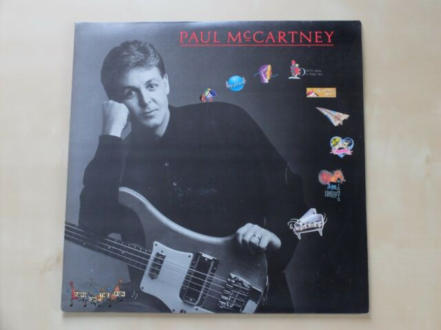 Paul McCartney_All The Best_2 LP_Supraphon (Czech Edition)