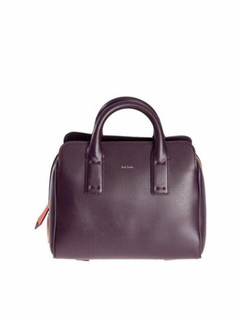 Paul Smith Borsa plain leather mini pocket bag