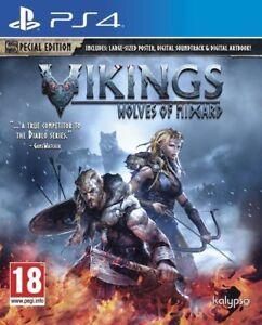 Vikings-Wolves-of-Midgard-For-PS4-New-amp-Sealed