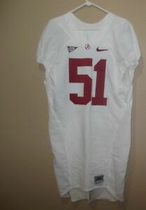 reputable site 1d249 d9484 Details about ALABAMA CRIMSON TIDE GAME USED FOOTBALL JERSEY