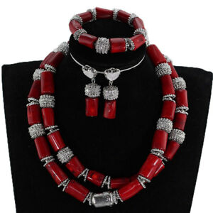 C Beads Jewelry Set African Party
