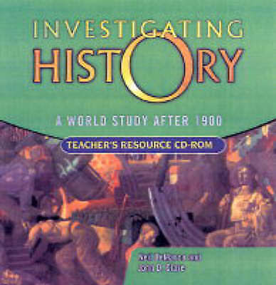 World Study after 1900 by John D Clare and Neil Demarco (2004, CD, Teacher's