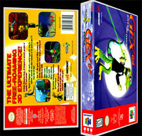 Gex 64 - N64 Reproduction Art Case/box No Game.