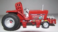 International 1466 - Redline Fever Pulling Tractor By SpecCast - 1/64 Scale