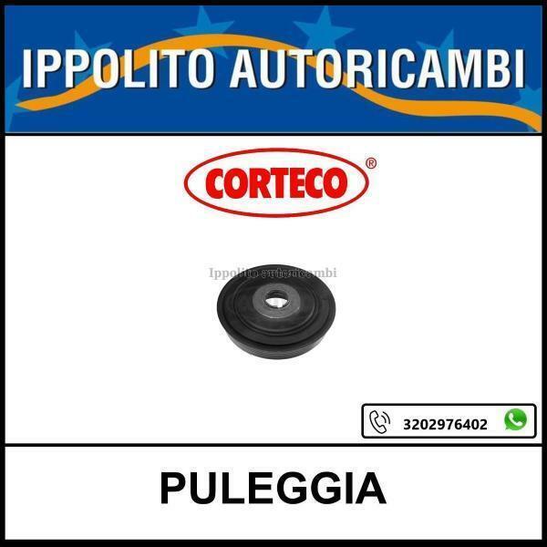 PULEGGIA ALBERO MOTORE CORTECO FORD FOCUS C-MAX - FUSION (JU_) 1.4 TDCi 1.6 TDCi