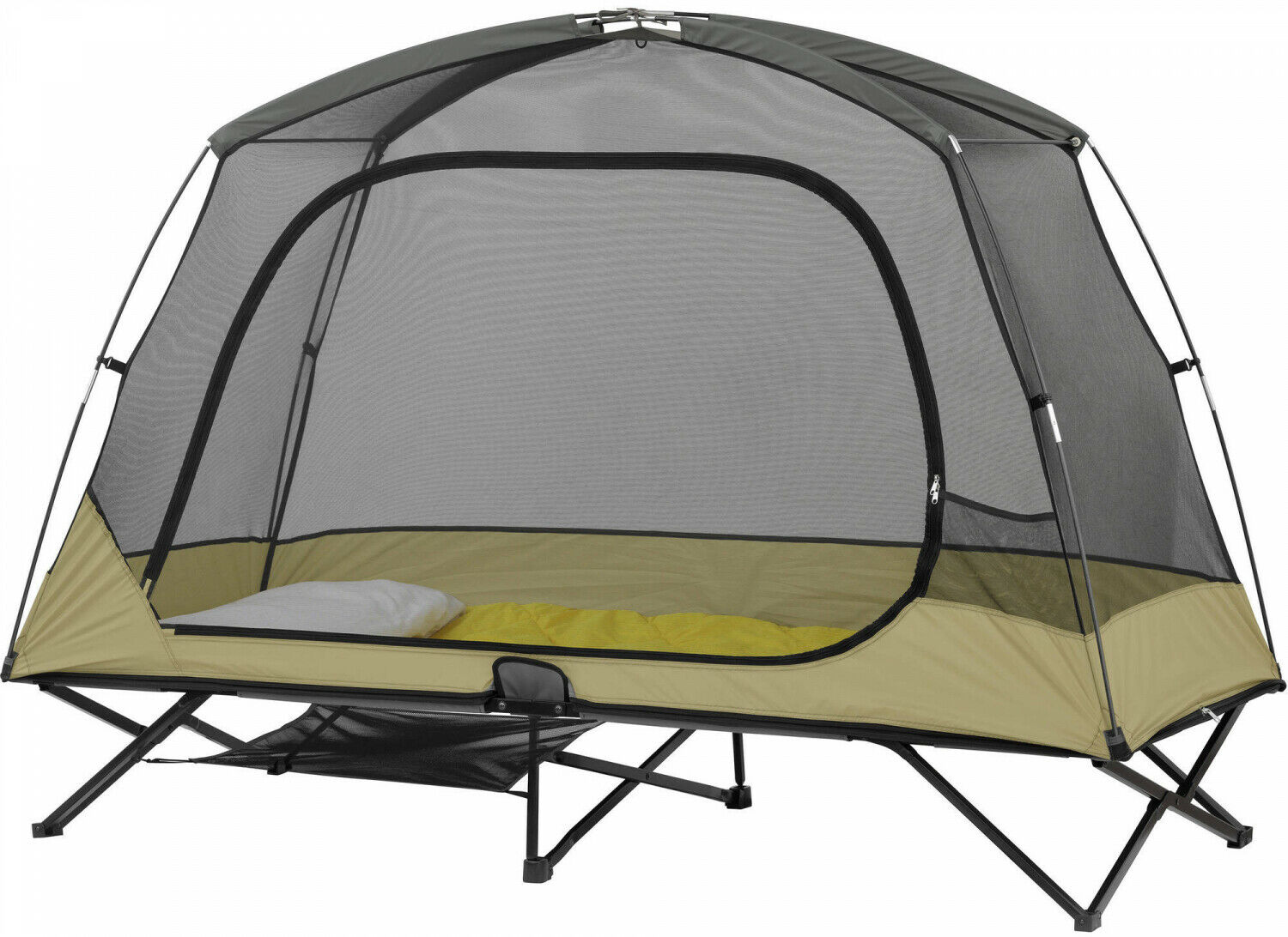 Ozark Trail OnePerson Padded Cot Tent all'aperto campeggio Gear Loft Bug Prossoection