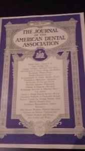 The Journal Of The American Dental Asociación VOL.20 1933 Febrero Retrato ABE