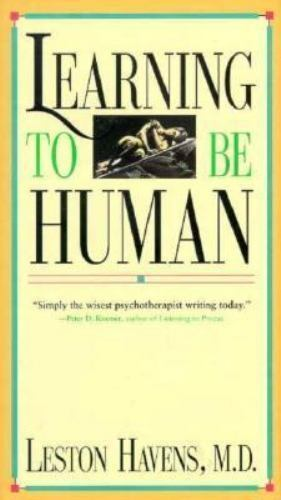 Learning to Be Human by Havens, Leston