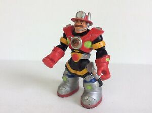 RESCUE-HEROES-BILLY-BLAZES-Hammer-variant-Figure-Fisher-Price-Mattel-2001