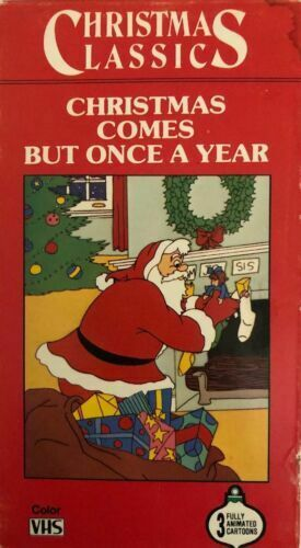 Christmas Comes But Once A Year.Christmas Comes But Once A Year Punch Judy Dreamland Carols Age Vhs For Sale Online Ebay